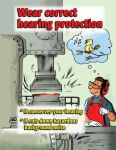 Hearing Protection  Poster