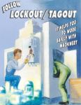 Lock Out and Tag Out Poster